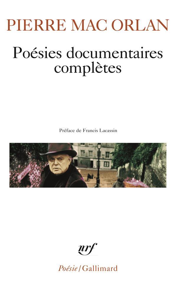 Poésies documentaires complètes