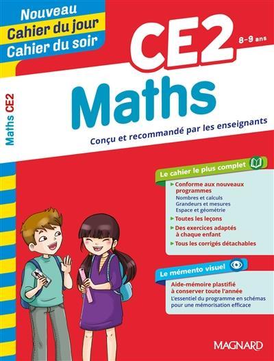 Cahiers du jour/ soir ; mathématiques ; CE2