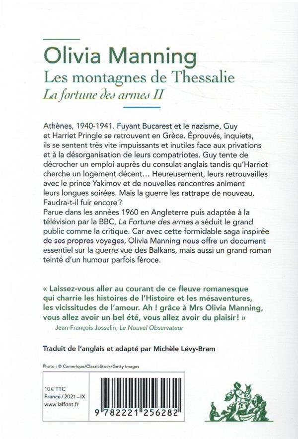 La fortune des armes t.2 ; les montagnes de Thessalie