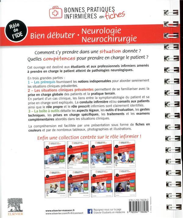 Bien débuter ; neurologie-neurochirurgie