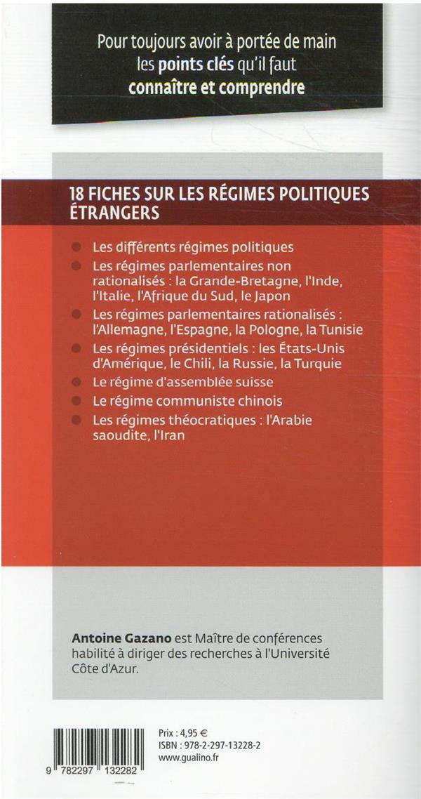 régimes politiques étrangers