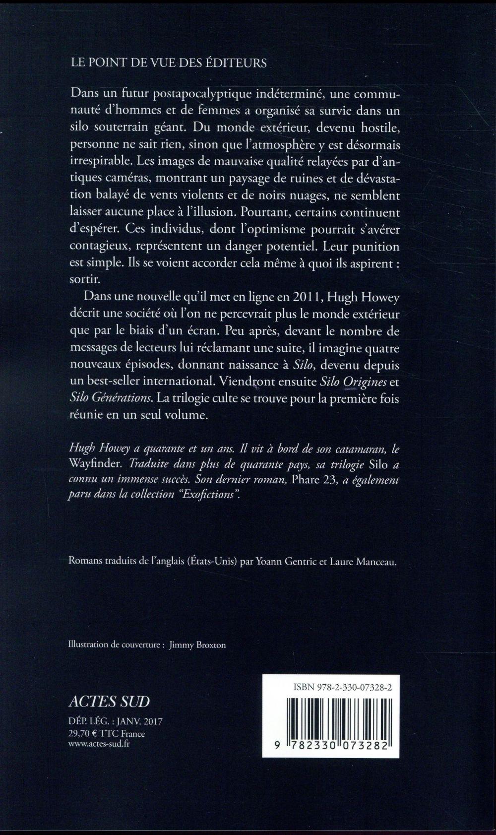 Silo ; INTEGRALE T.1 A T.3