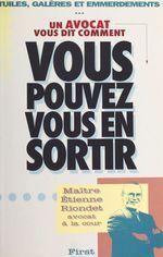 Vente Livre Numérique : Vous pouvez vous en sortir  - Étienne Riondet