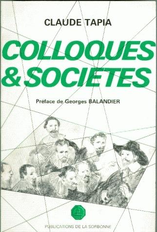 Colloques et sociétés