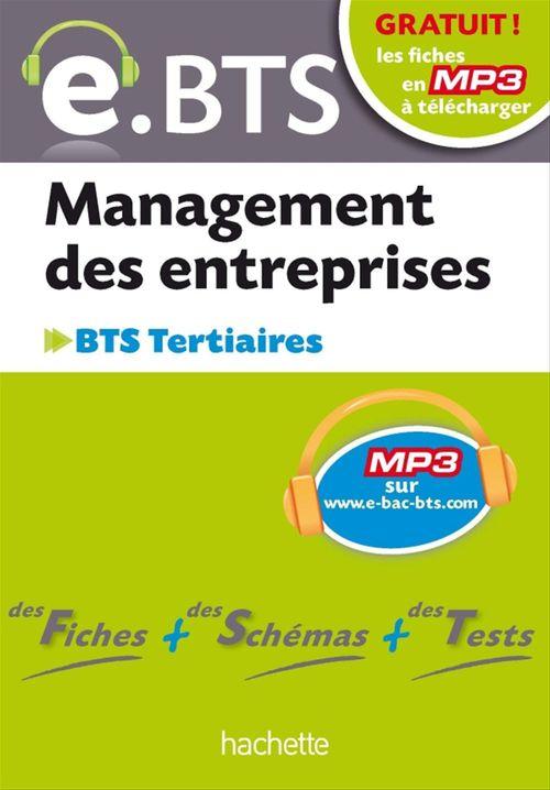 E.BTS, Management des entreprises