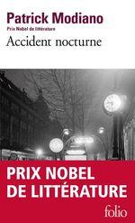 Vente Livre Numérique : Accident nocturne  - Patrick Modiano