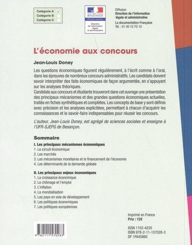L'économie aux concours (édition 2020)