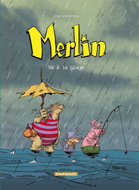 Merlin T.3 ; Merlin Va A La Plage