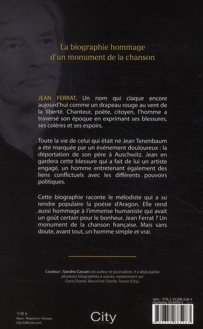 Jean Ferrat une vie vraie