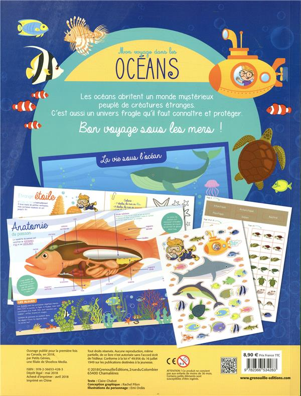 Mon voyage dans les océans