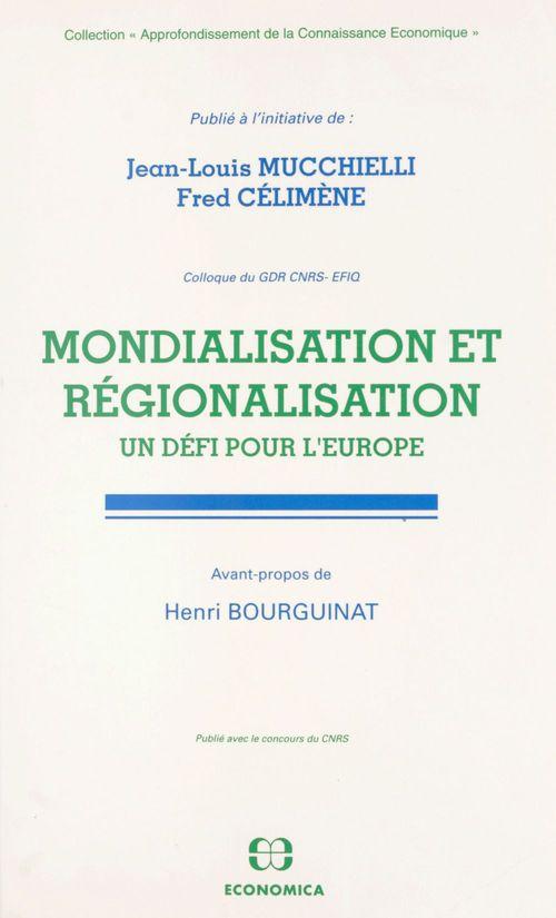Mondialisation et regionalisation