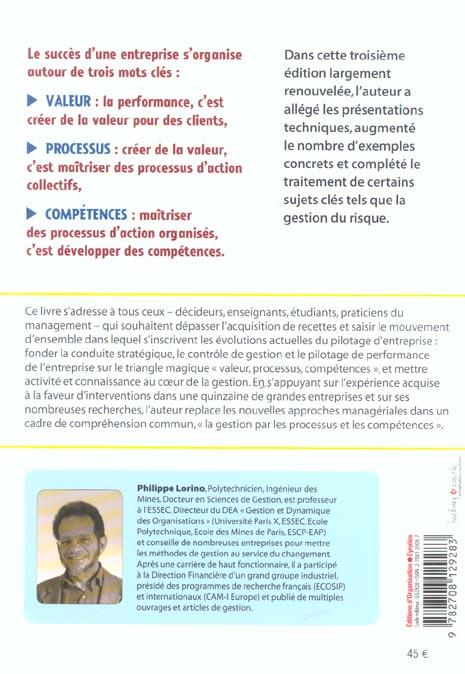 Methodes et pratiques de la performance (3e édition)