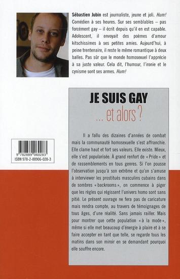Je suis gay... et alors ?