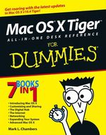 Vente Livre Numérique : Mac OS X Tiger All-in-One Desk Reference For Dummies  - Mark L. CHAMBERS