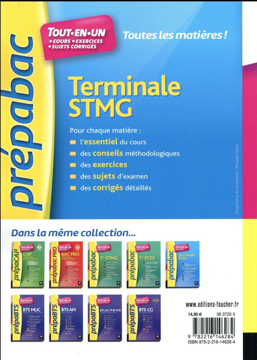 prépabac ; toute la terminale STMG
