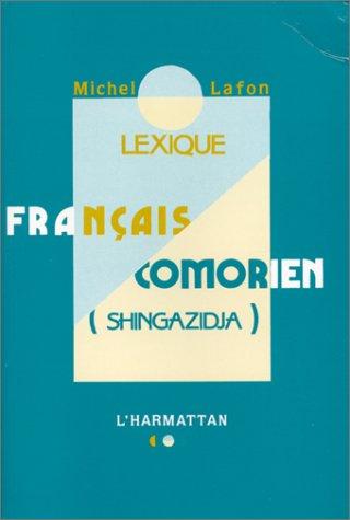 lexique francais - comorien (singazidja)