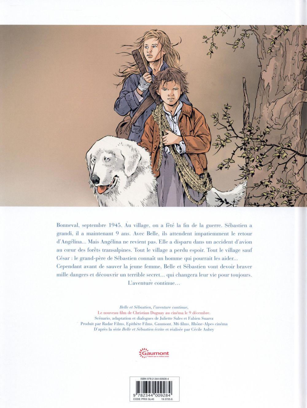 Belle et Sébastien - l'aventure continue ; la BD
