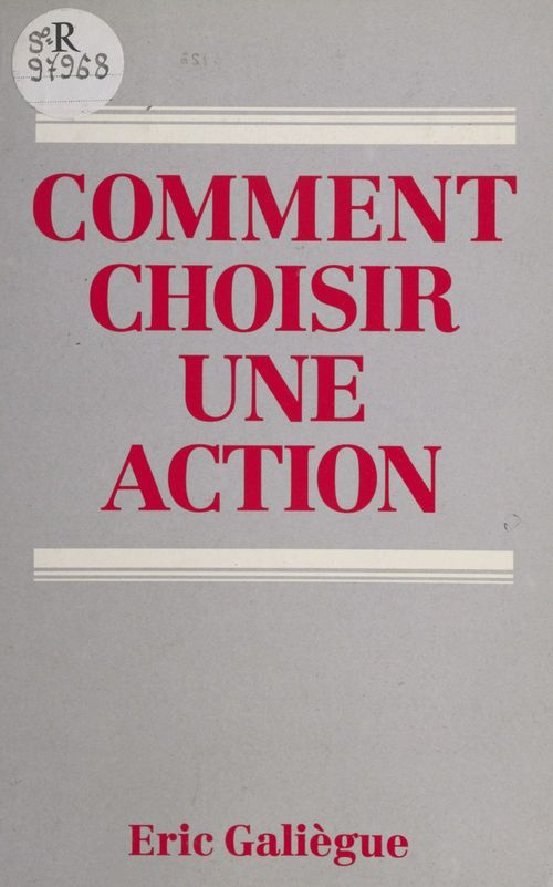 Comment choisir une action