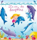 Vente Livre Numérique : La vie des dauphins  - Nathalie Bélineau - Émilie Beaumont