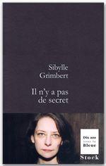Il n'y a pas de secret  - Sibylle Grimbert
