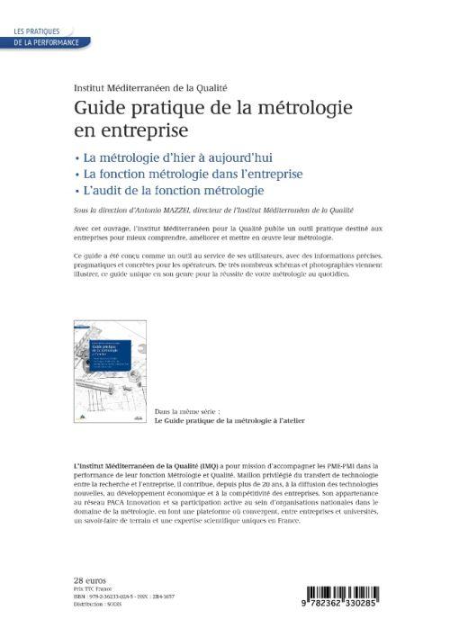 Le guide pratique de la métrologie en entreprise