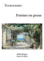 Vente Livre Numérique : Poèmes en prose  - Ivan Tourgueniev