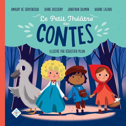 Vente AudioBook : Le petit théâtre des contes  - Hans Christian Andersen  - Frères Grimm  - Charles Perrault  - Karine Lazard