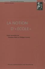 Vente Livre Numérique : La notion d´«école»  - Christine Peltre - Philippe Lorentz
