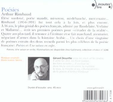Poesies cd