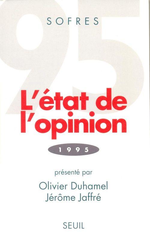 L'état de l'opinion (édition 1995)