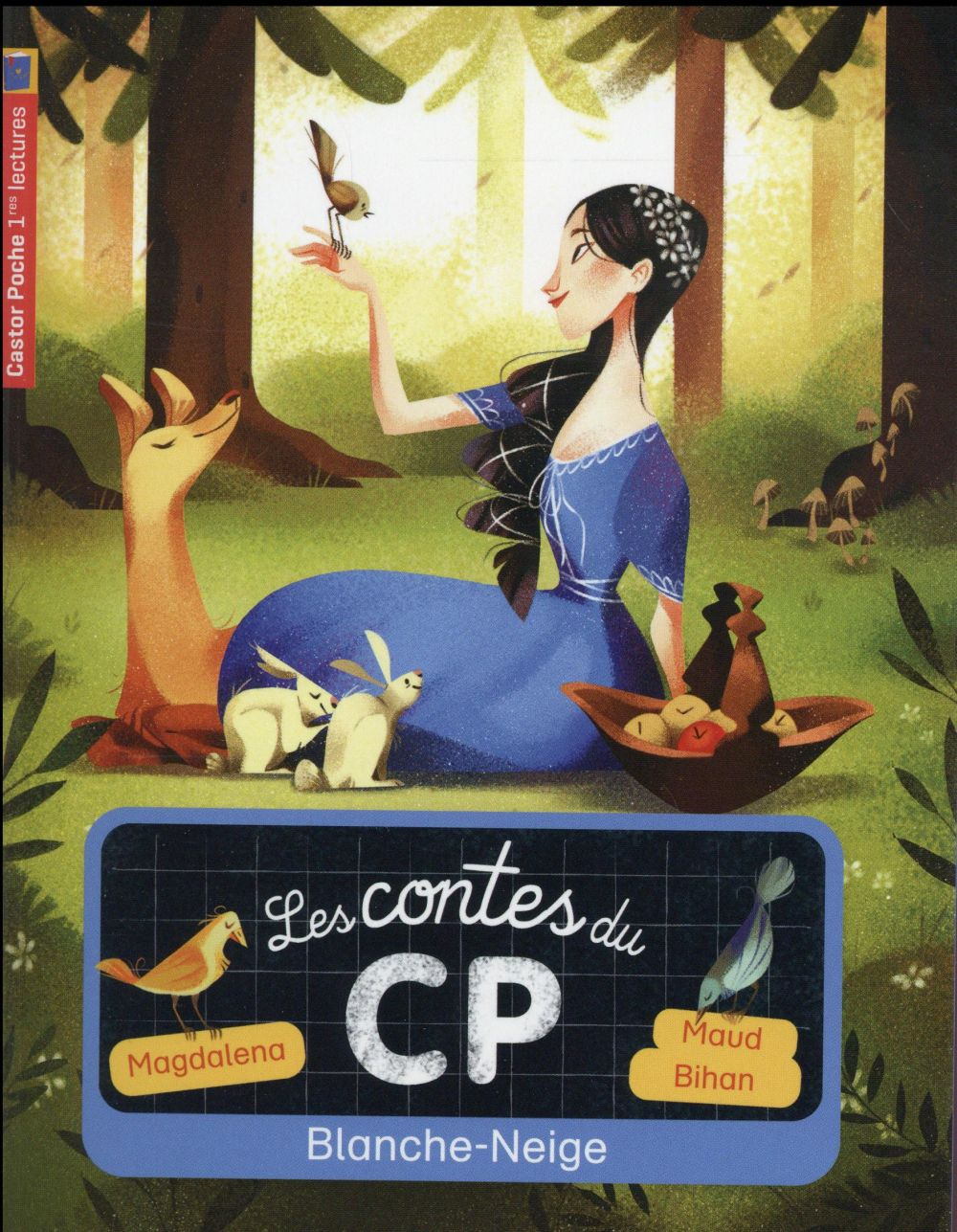 Les contes du CP t.9 ; Blanche-Neige