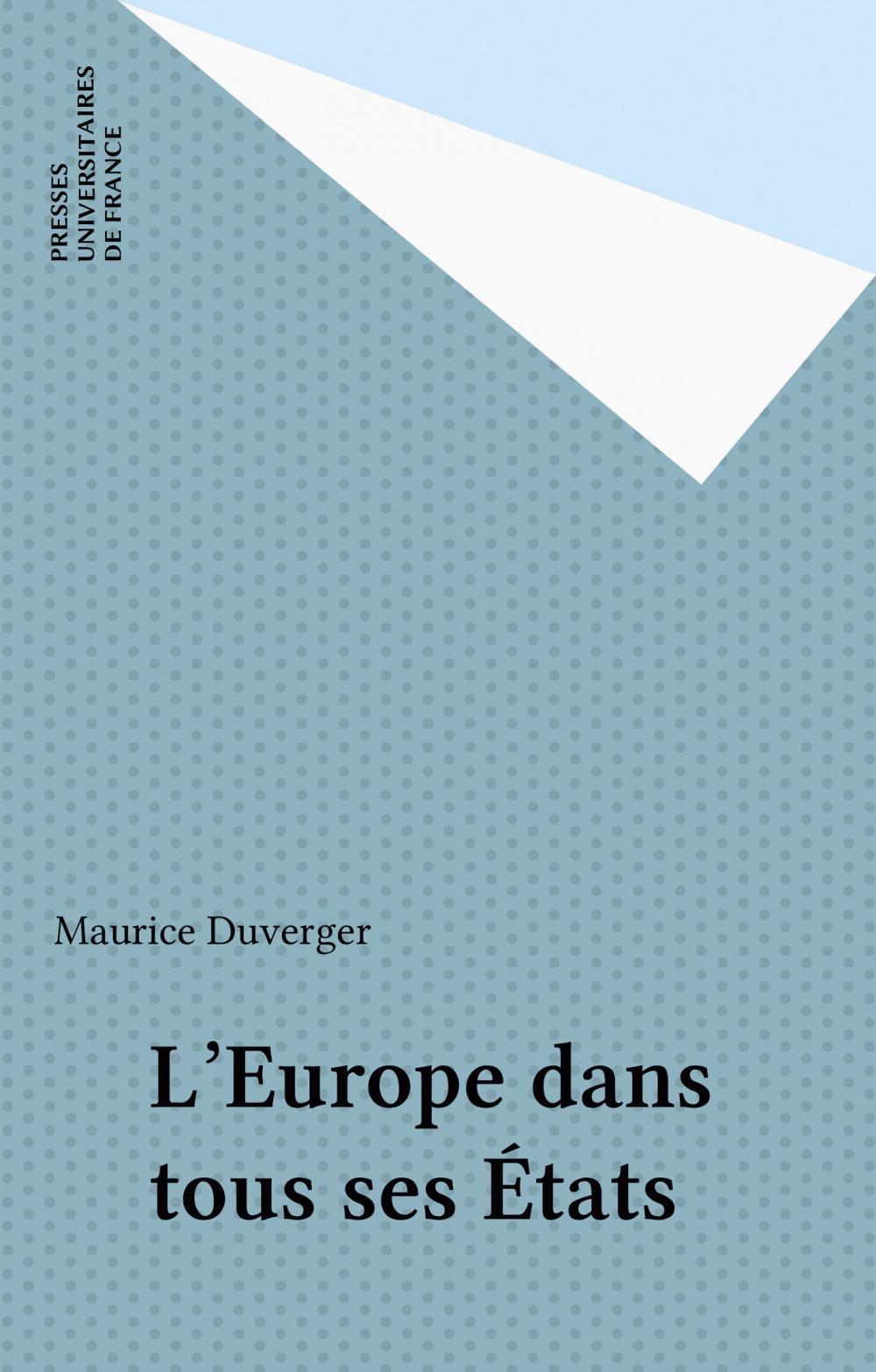 L'europe dans tous ses etats