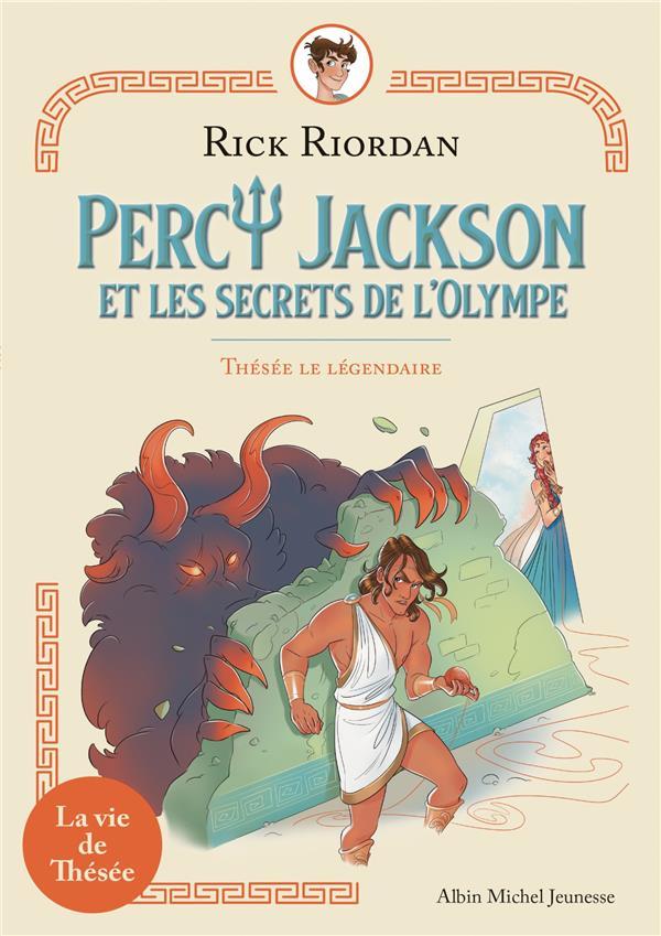 Percy Jackson et les secrets de l'Olympe t.3 ; Thésée le légendaire