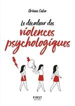 Vente EBooks : Petit Livre de - Le décodeur des violences psychologiques  - Ariane CALVO