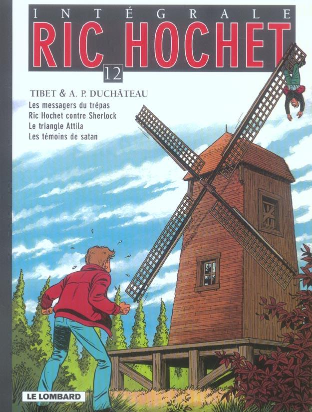 Ric Hochet ; INTEGRALE VOL.12