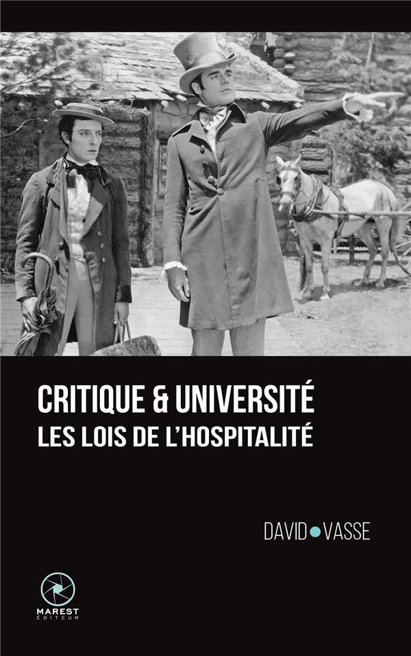 Critique et université ; les lois de l'hospitalité
