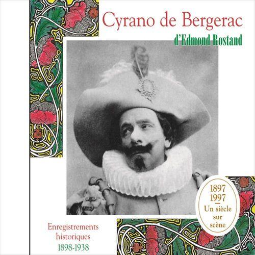 Vente AudioBook : Cyrano de Bergerac. Enregistrements historiques 1898-1938  - Edmond Rostand