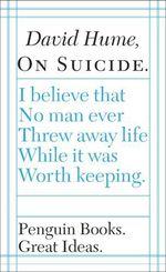 Vente Livre Numérique : On Suicide  - David HUME