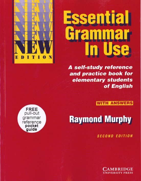 ESSENTIAL GRAMMAR IN USE WITH ANSWERS (ROUGE) - 2ND ED