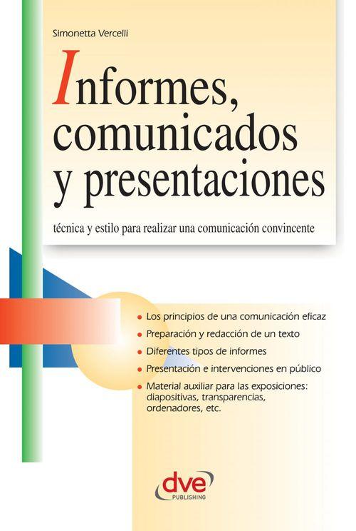 Informes, comunicados y presentaciones