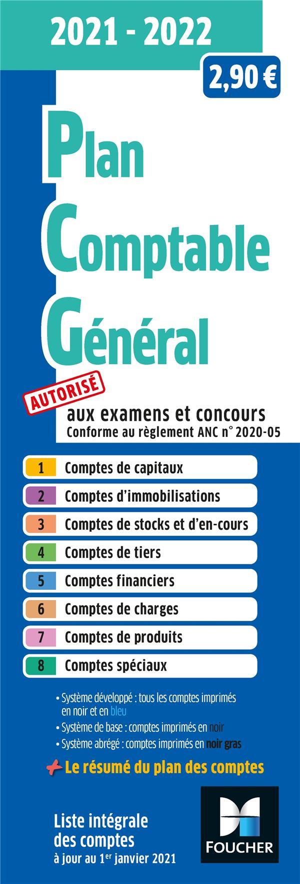 Plan comptable général (édition 2021/2022)