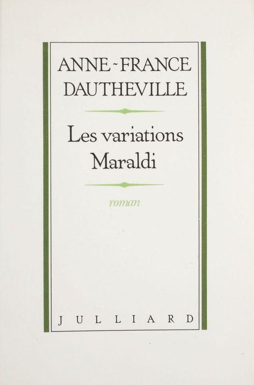 Les Variations Maraldi