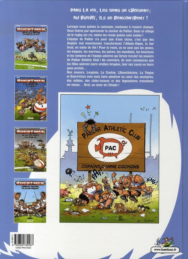 les rugbymen t.4 ; dimanche prochain, on jouera samedi !
