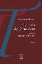 Vente Livre Numérique : La paix de Jérusalem  - Emmanuel Moses
