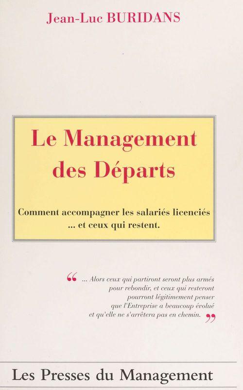 Le management des departs