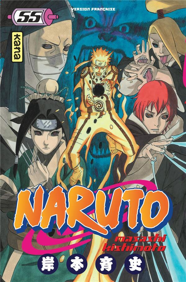 NARUTO - TOME 55 KISHIMOTO, MASASHI