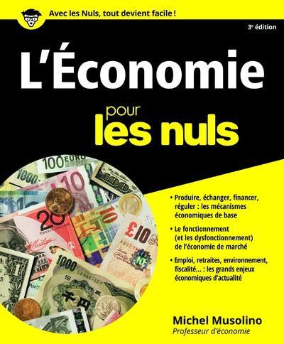 l'économie pour les nuls (3e édition)