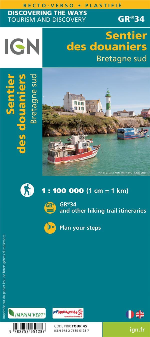 GR34 : les sentiers douaniers de Bretagne Sud
