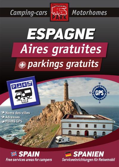 Guide Espagne des aires gratuites et parkings gratuits