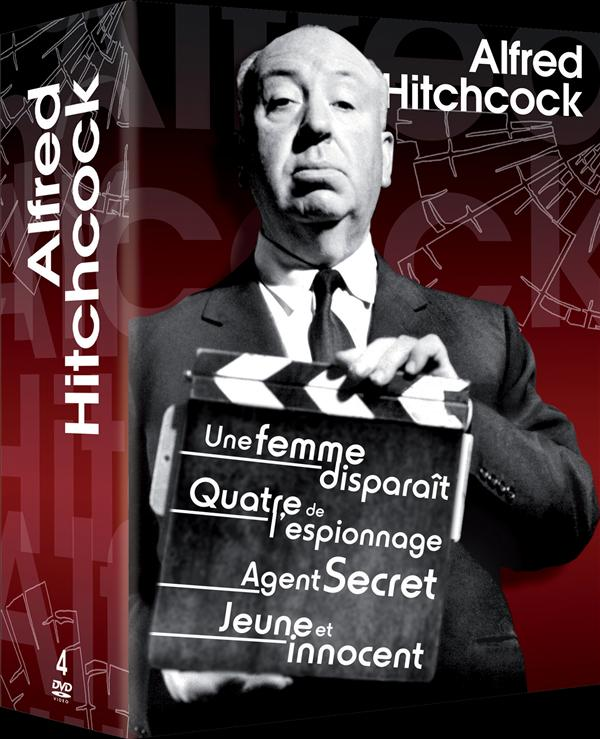 coffret Alfred Hitchcock 4 films